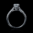 .34ct Diamond 18k White Gold Engagement Ring Setting
