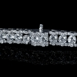 7.08ct Diamond 18k White Gold Bracelet