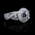 .98ct Diamond 18k White Gold Engagement Ring Setting