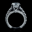 2.00ct Diamond 18k White Gold Engagement Ring Setting