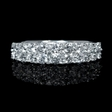 1.14ct Diamond 18k White Gold Eternity Ring
