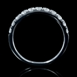 .71ct Diamond 18k White Gold Wedding Band Ring