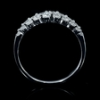.53ct Diamond 18k White Gold Wedding Band Ring
