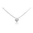 .52ct Leo Pizzo Diamond Solitaire 18k White Gold Pendant Necklace