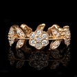1.00ct Diamond 18k Rose Gold Ring