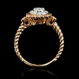 .40ct Diamond 18k Rose Gold Ring