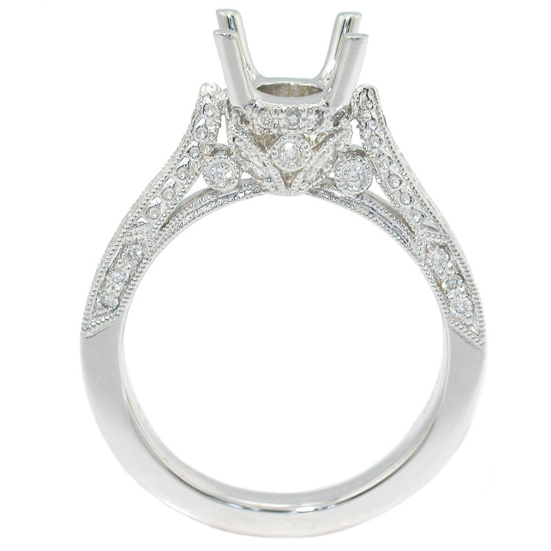 ring settings antique engagement ring settings platinum