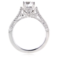 .56ct Diamond Antique Style Platinum Engagement Ring Setting