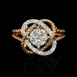 .48ct Diamond 18k Two Tone Gold Ring