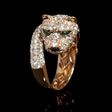 3.01ct Diamond 18k Rose Gold Ring