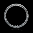 .60ct Diamond Antique Style Platinum Eternity Wedding Band Ring
