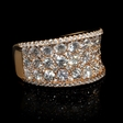 3.36ct Diamond 18k Rose Gold Ring
