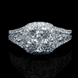 1.61ct Diamond 18k White Gold Ring