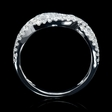 .82ct Diamond 18k White Gold Wedding Band Ring