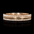 .49ct Diamond 18k Rose Gold Ring