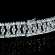 10.87ct Diamond 18k White Gold Bracelet