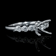 .30ct Diamond 18k White Gold Engagement Ring Setting