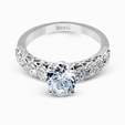 .57ct Simon G Diamond 18k White Gold Engagement Ring Setting