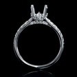 .49ct Diamond 18k White Gold Engagement Ring Setting