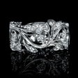 .33ct Diamond 18k White Gold Ring