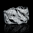 1.10ct Diamond 18k White Gold Ring