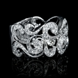 1.01ct Diamond 18k White Gold Ring