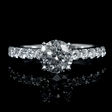 .40ct Diamond 18k White Gold Engagement Ring Setting