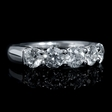 2.00ct Diamond 18k White Gold Wedding Band Ring