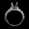 .14ct Diamond 18k White Gold Engagement Ring Setting