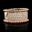.91ct Diamond 18k Rose Gold Ring