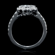 1.05ct Diamond 18k White Gold Ring