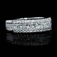 1.87ct Diamond 18k White Gold Ring
