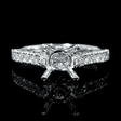 .52ct Diamond Platinum Engagement Ring Setting