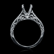 .28ct Diamond 18k White Gold Engagement Ring Setting