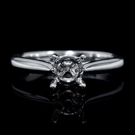 Platinum Engagement Ring Setting