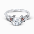 .21ct Simon G 18k White Gold Engagement Ring Setting