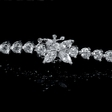 4.04ct Diamond 18k White Gold Bracelet.