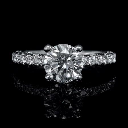 .44ct Diamond Platinum Engagement Ring Setting