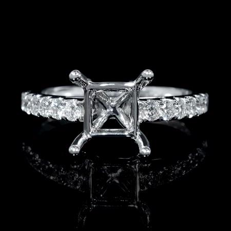 .48ct Diamond Platinum Engagement Ring Setting