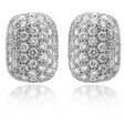 4.15ct Diamond 18k White Gold Earrings
