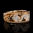 .55ct Diamond 18k Rose Gold Ring