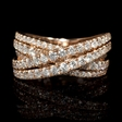 1.64ct Diamond 14k Rose Gold Ring