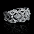 1.00ct Diamond 14k White Gold Ring