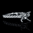 .35ct Diamond 18k White Gold Engagement Ring Setting