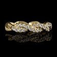 .56ct Diamond 18k Yellow Gold Ring
