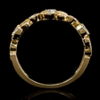 .70ct Diamond 18k Yellow Gold Ring