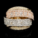 Diamond 18k Two Tone Gold Ring