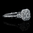 .83ct Diamond 18k White Gold Ring