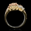 1.98ct Diamond 18k White and Rose Gold Ring