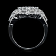 2.67ct Diamond 18k White Gold Ring